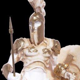 Ares god of war greek alabaster statue 4