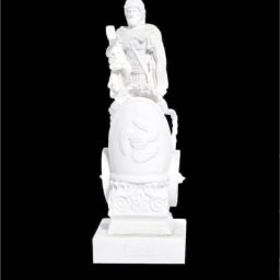 Ares greek alabaster statue 1