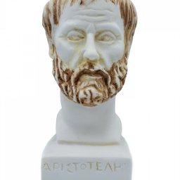 Aristotle greek alabaster bust statue 1