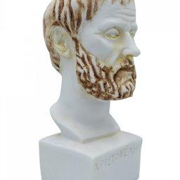 Aristotle greek alabaster bust statue 3