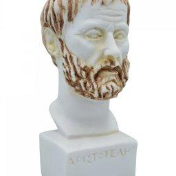 Aristotle greek alabaster bust statue 2
