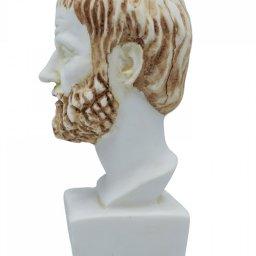 Aristotle greek alabaster bust statue 4