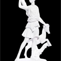 Artemis goddess of the hunt greek alabaster statue of Leoharis  1