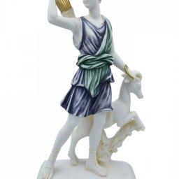 Artemis, goddess of the hunt, greek alabaster statue of Leoharis  1