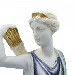 Artemis, goddess of the hunt, greek alabaster statue of Leoharis  3