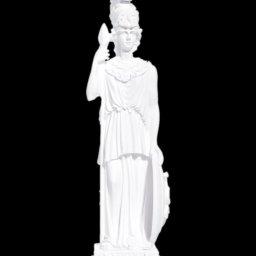 Greek alabaster statue of the goddess Athena 1