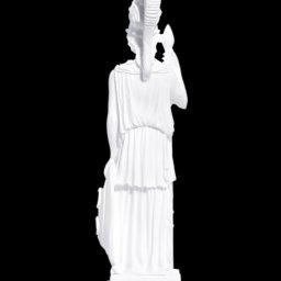 Greek alabaster statue of the goddess Athena 3