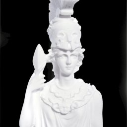 Greek alabaster statue of the goddess Athena 4