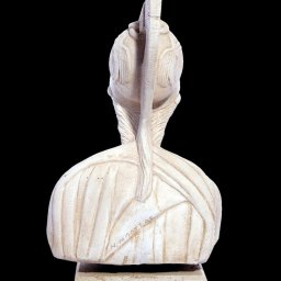 Athena greek plaster bust statue 3