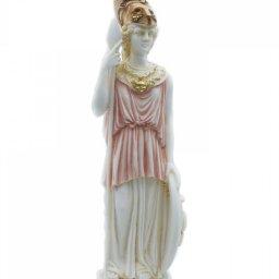 Goddess Athena Greek alabaster statue 1