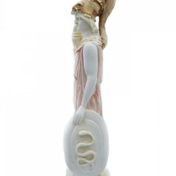 Goddess Athena Greek alabaster statue 2