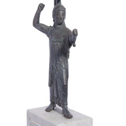 Athena Promachos greek plaster statue 2