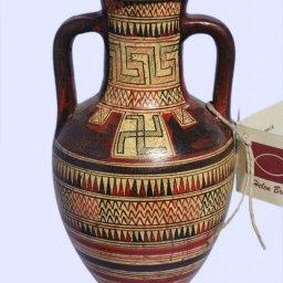 Attic amphora with geometric decoration  1
