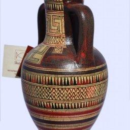 Attic amphora with geometric decoration  2