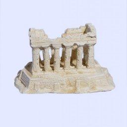 Parthenon on Acropolis rock small plaster statue 2