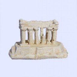 Parthenon on Acropolis rock small plaster statue 1
