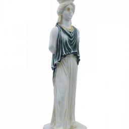 Caryatid greek alabaster statue 2