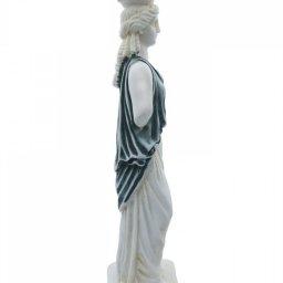 Caryatid greek alabaster statue 3