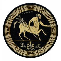 Greek ceramic plate depicting Centaurus (24cm) 1