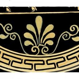Greek ceramic plate depicting Centaurus (24cm) 4