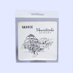 Greece Coaster with Monastiraki 1