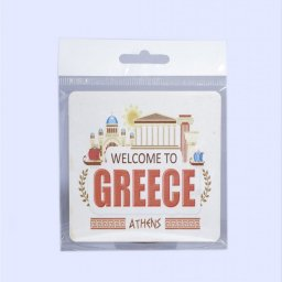 Welcome to Greece Coaster 1