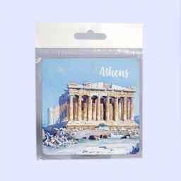 Athens Coaster with Parthenon of Acropolis No.2 1