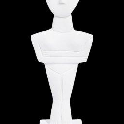 Cycladic male idol, alabaster cycladic statue 1