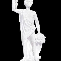 Greek alabaster statue of Dionysus 1