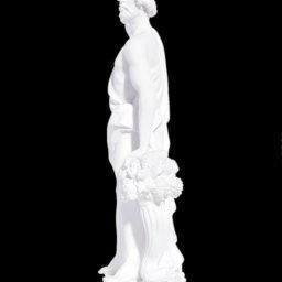 Greek alabaster statue of Dionysus 2