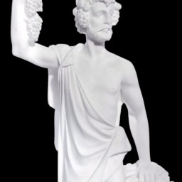 Greek alabaster statue of Dionysus 3