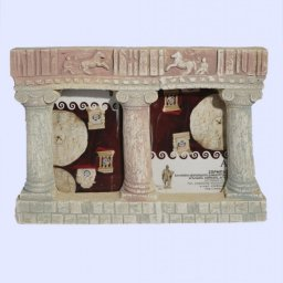 Greek double picture frame with Ionic columns 1