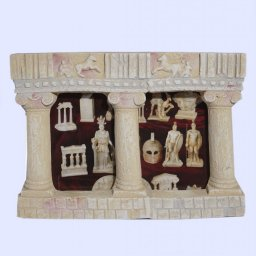 Greek double picture frame with Ionic columns 2
