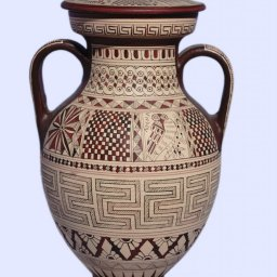 Large Attic amphora with geometric decoration 1