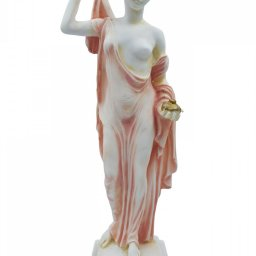 Hera, queen of gods and goddess of women and family, alabaster statue 1