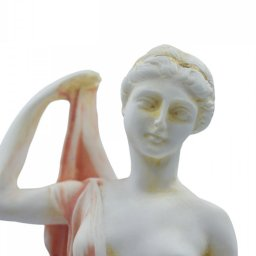 Hera, queen of gods and goddess of women and family, alabaster statue 4