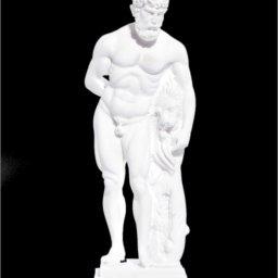 Hercules greek alabaster statue 1