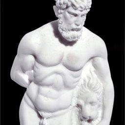 Hercules greek alabaster statue 4
