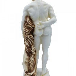 Hercules greek alabaster statue with color 2