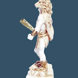 Greek alabaster statue of Hercules holding his club  2