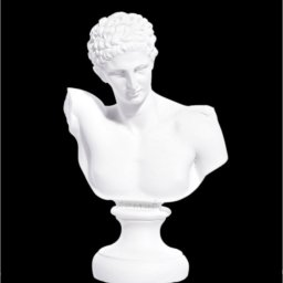 Hermes alabaster bust statue 1