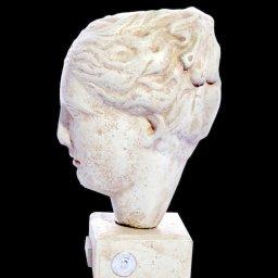 Hygieia (or Hygeia) greek plaster bust statue 2
