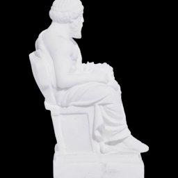Plato greek alabaster statue 2