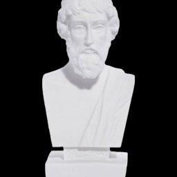 Plato greek alabaster bust statue 1