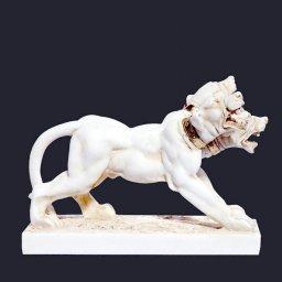 Cerberus greek alabaster statue 2