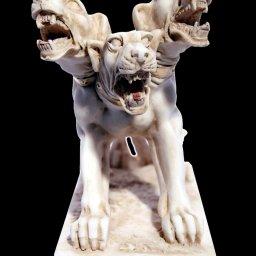 Cerberus greek alabaster statue 3