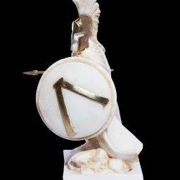 Leonidas Statue, King Of Sparta, Alabaster Sculpture 2