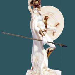 Leonidas king of the Sparta alabaster statue 2