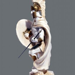 Leonidas king of the Sparta greek alabaster statue 2