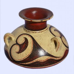Minoan jar with 3 handles 2